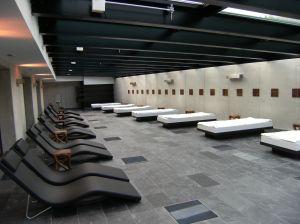Alpen Hotel relaxation area