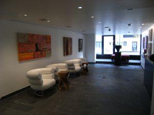 Alpen Hotel reception