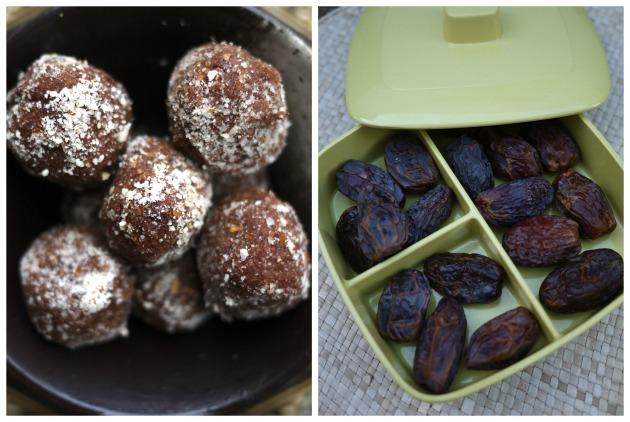Choc-almond bon bons