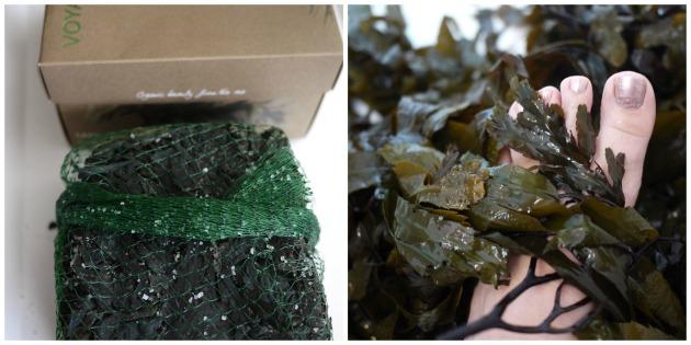 Voya's seaweed bath