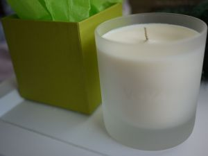 Voya's beesewax candle