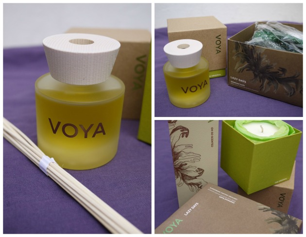 Voya's seaweed bath and organic products