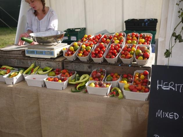 Daylesford Farm stall