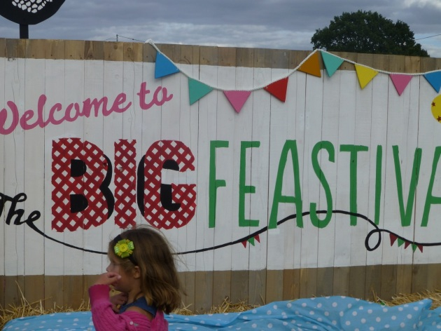 The Big Feastival 2013 - by chef Jamie Oliver and Alex James from Blur