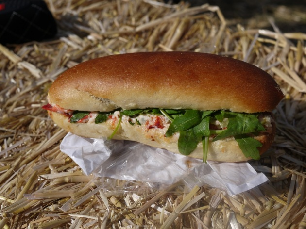Lobster roll in the hay. Boom, boom.