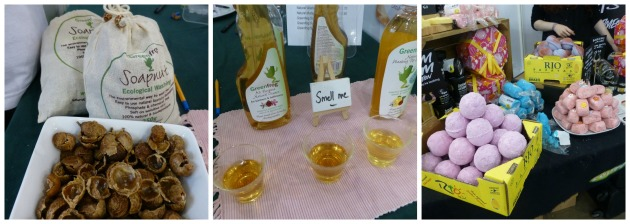 Eco products at Vegfest