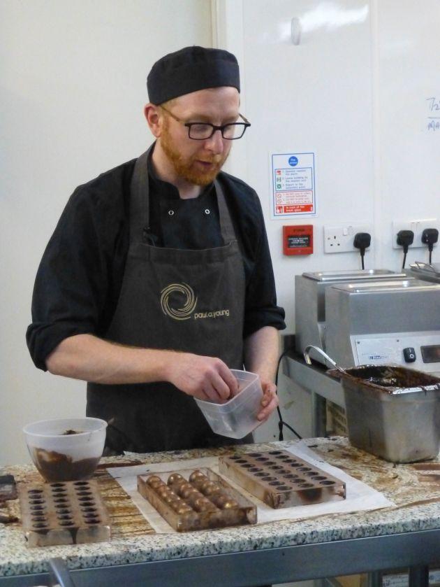 Artisan chocolatier Paul A Young