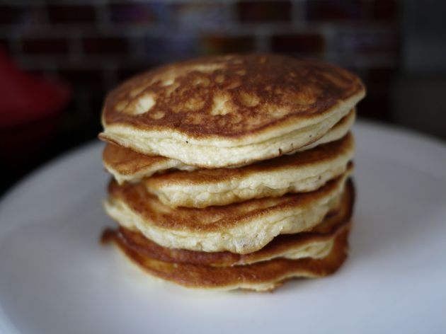 Fluffy low carb pancakes